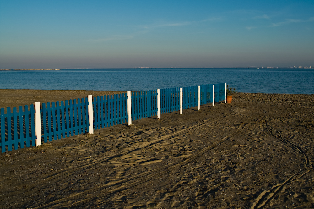 Dann ist auch der Strand noch nicht so voll...