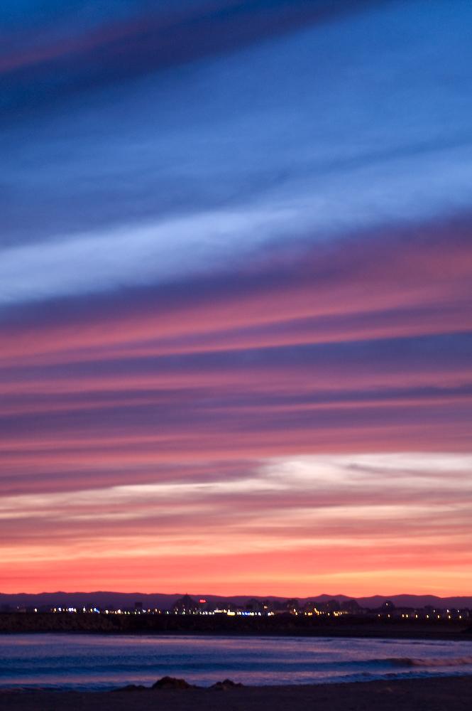 ...der Sonnenuntergänge zu erleben.